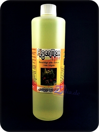 Algen max aqua 500ml algenmittel antialgen f r s wasser for Kupfer gegen algen im gartenteich